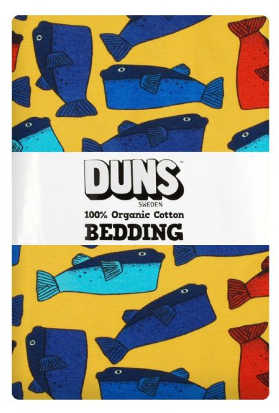 Duns Bedding Set Junior Orange Fugu